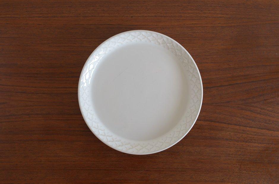Cordial コーディアル ホワイト 17cmプレート #6/Jens.H.Quistgaard イェンス・クイストゴー