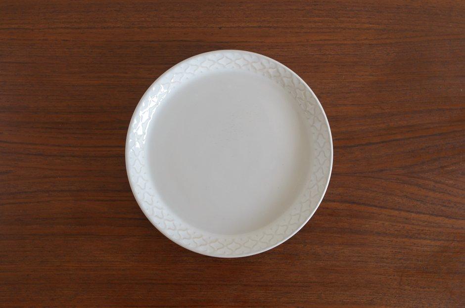 Cordial コーディアル ホワイト 17cmプレート #7/Jens.H.Quistgaard イェンス・クイストゴー