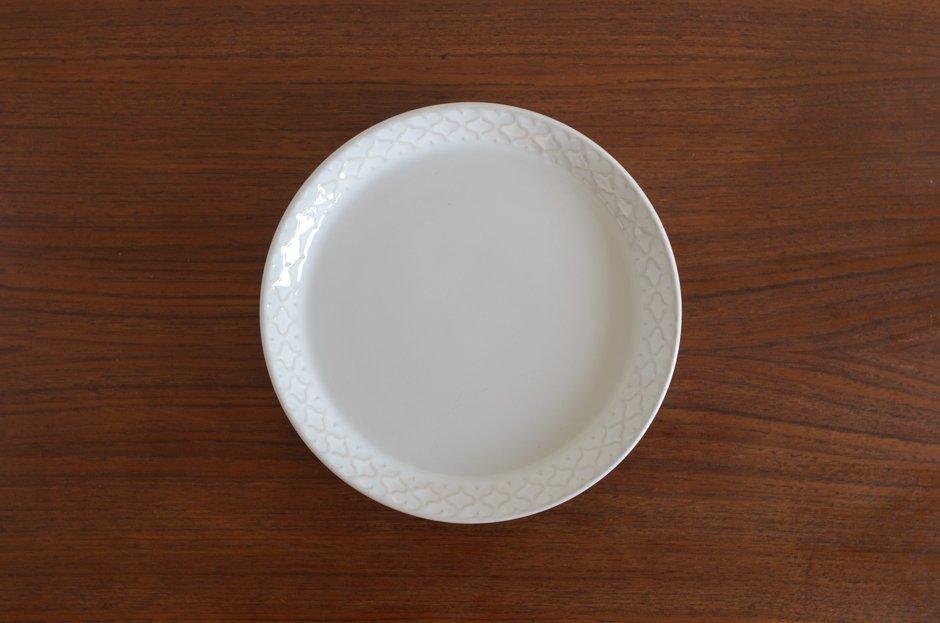Cordial コーディアル ホワイト 17cmプレート #8/Jens.H.Quistgaard イェンス・クイストゴー
