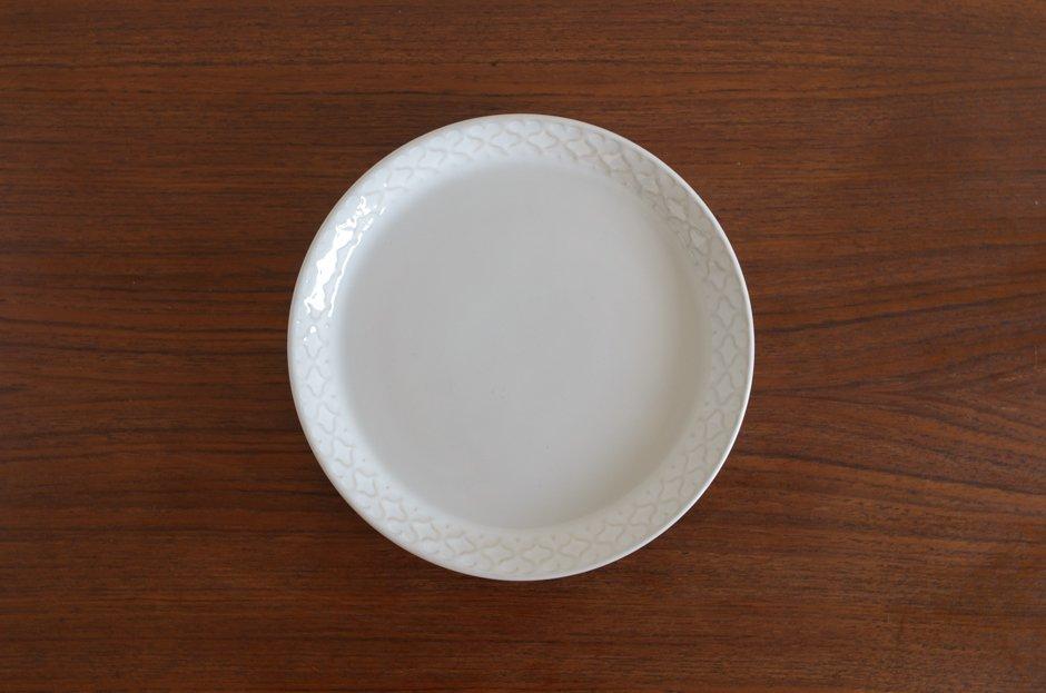 Cordial コーディアル ホワイト 17cmプレート #9/Jens.H.Quistgaard イェンス・クイストゴー