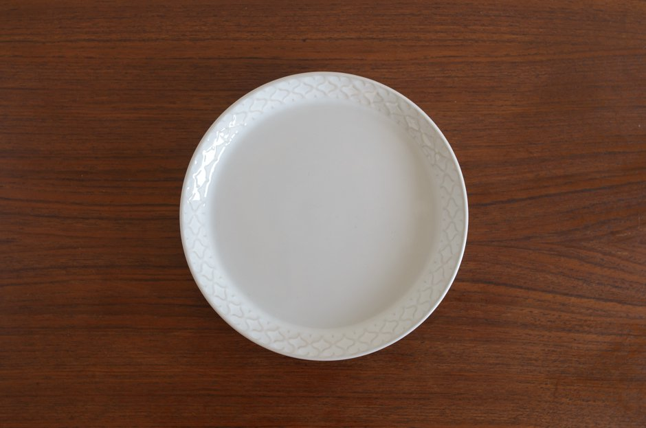 Cordial コーディアル ホワイト 17cmプレート #10/Jens.H.Quistgaard イェンス・クイストゴー