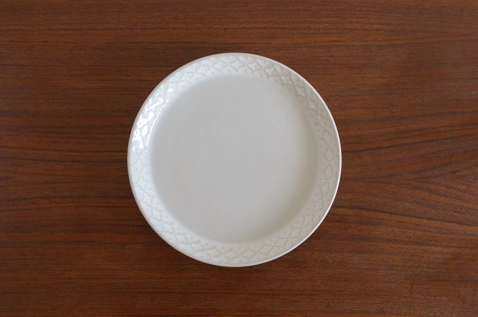 Cordial コーディアル ホワイト 17cmプレート #11/Jens.H.Quistgaard イェンス・クイストゴー