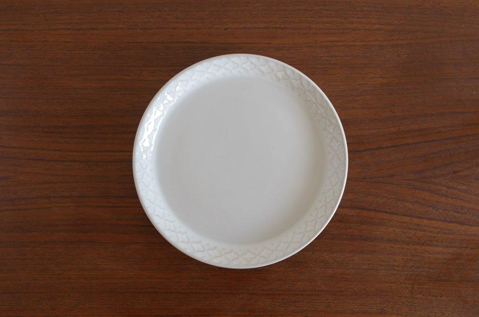 Cordial コーディアル ホワイト 17cmプレート #12/Jens.H.Quistgaard イェンス・クイストゴー