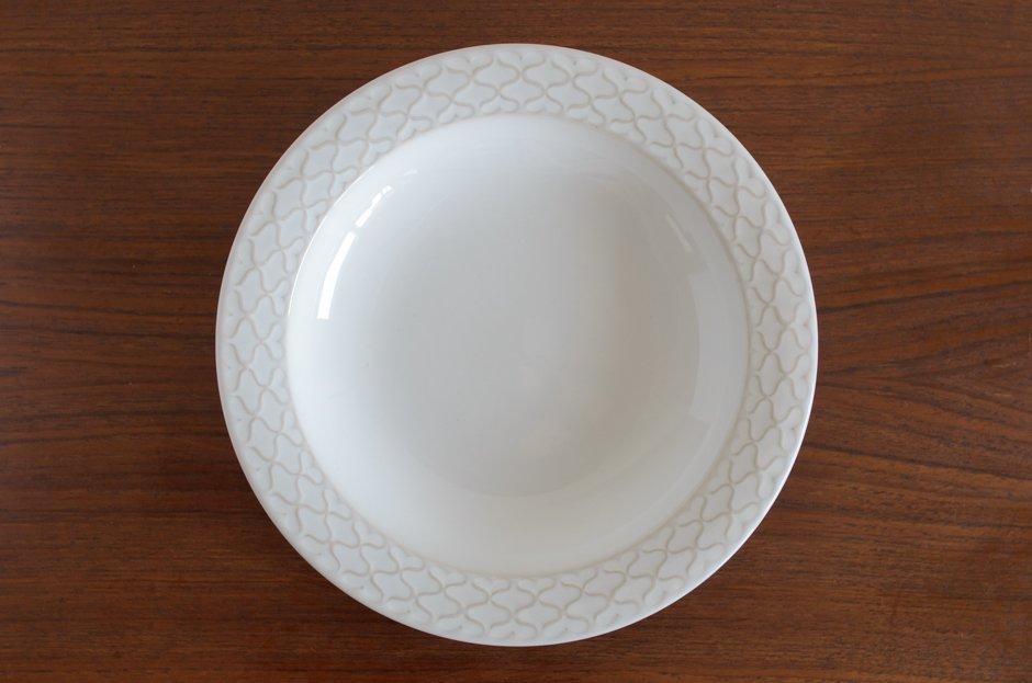 Cordial コーディアル ホワイト スーププレート #1/Jens.H.Quistgaard イェンス・クイストゴー