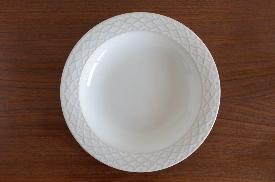 Cordial コーディアル ホワイト スーププレート #2/Jens.H.Quistgaard イェンス・クイストゴー