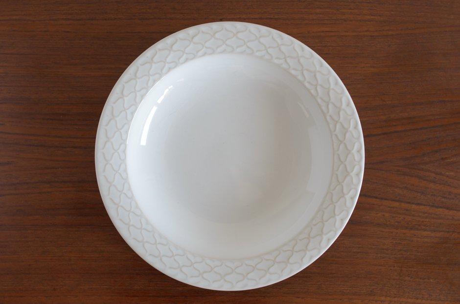 Cordial コーディアル ホワイト スーププレート #5/Jens.H.Quistgaard イェンス・クイストゴー