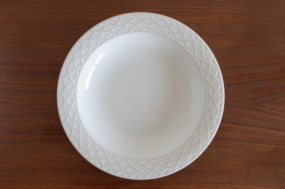 Cordial コーディアル ホワイト スーププレート #6/Jens.H.Quistgaard イェンス・クイストゴー