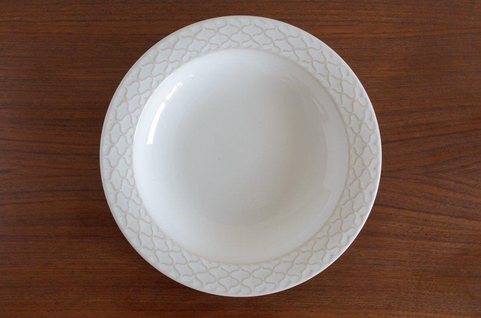 Cordial コーディアル ホワイト スーププレート #8/Jens.H.Quistgaard イェンス・クイストゴー