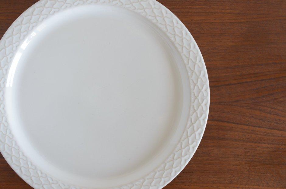 Cordial コーディアル ホワイト 30cmプレート #1/Jens.H.Quistgaard イェンス・クイストゴー