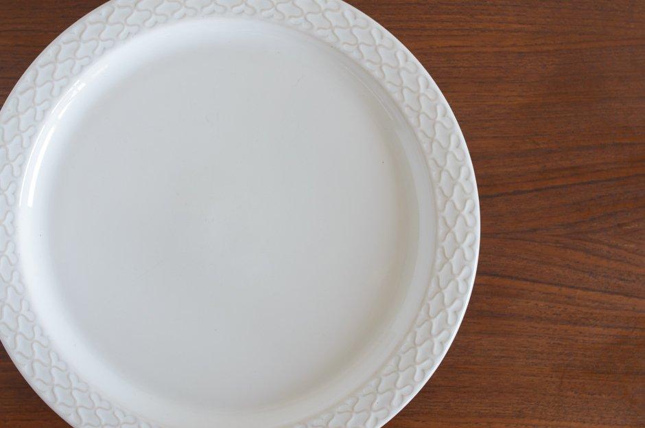 Cordial コーディアル ホワイト 30cmプレート #2/Jens.H.Quistgaard イェンス・クイストゴー