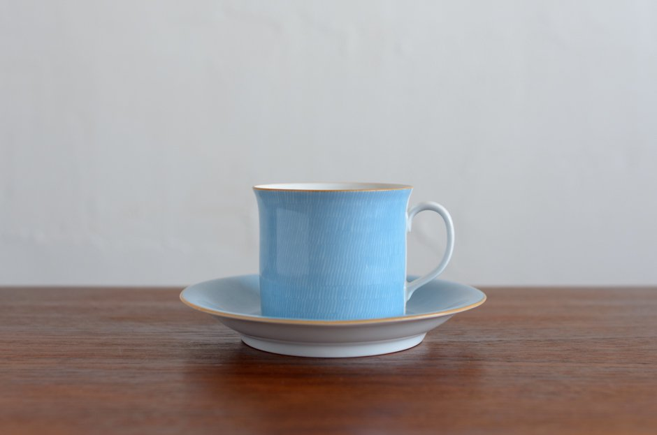 Signe Persson Melin PRIMEUR Blue コーヒーカップ & ソーサー #2 Rorstrand