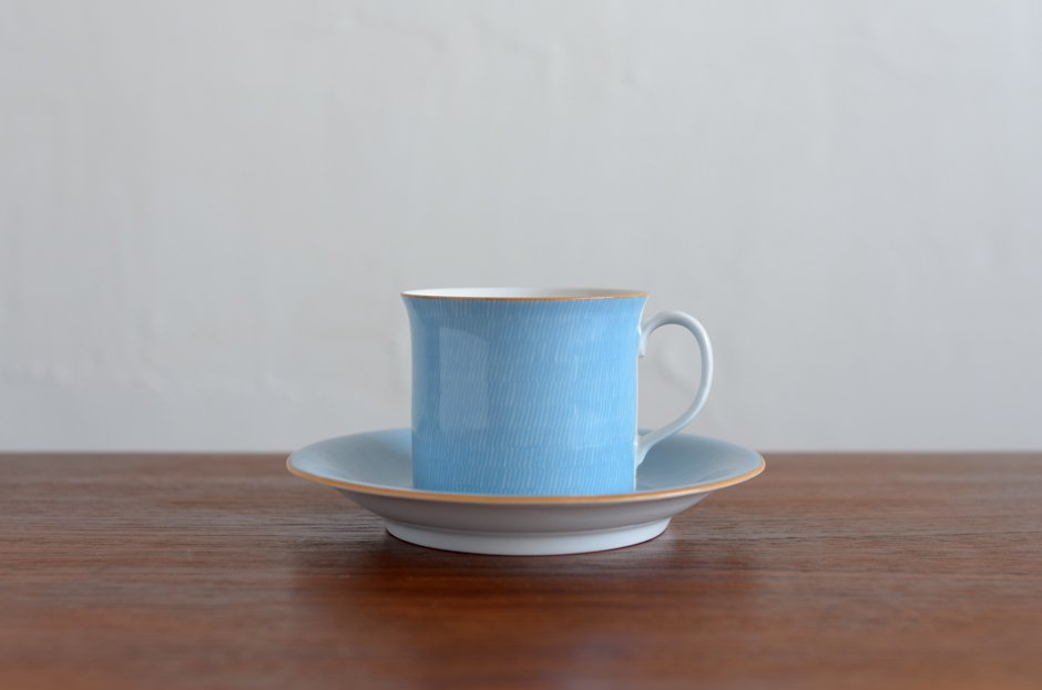Signe Persson Melin PRIMEUR Blue コーヒーカップ & ソーサー #3 Rorstrand