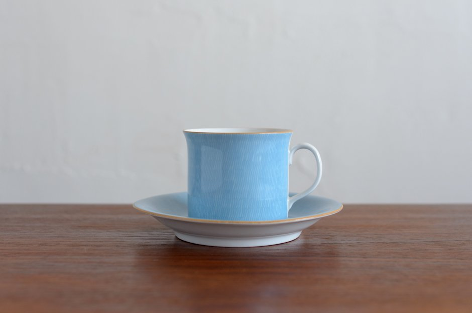 Signe Persson Melin PRIMEUR Blue コーヒーカップ & ソーサー #4 Rorstrand