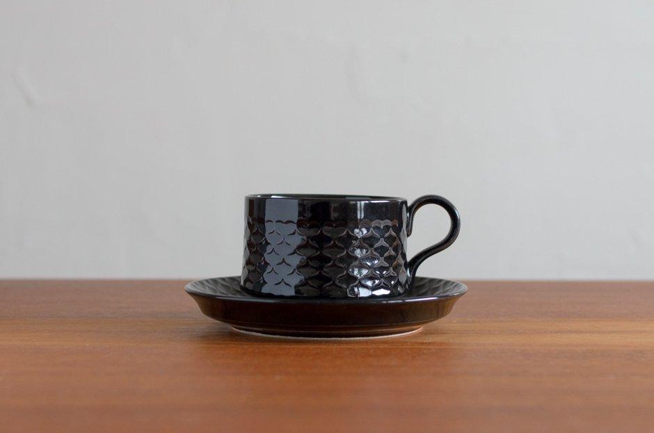 Cordial コーディアル ブラック カップ&ソーサー #2/Jens.H.Quistgaard イェンス・クイストゴー