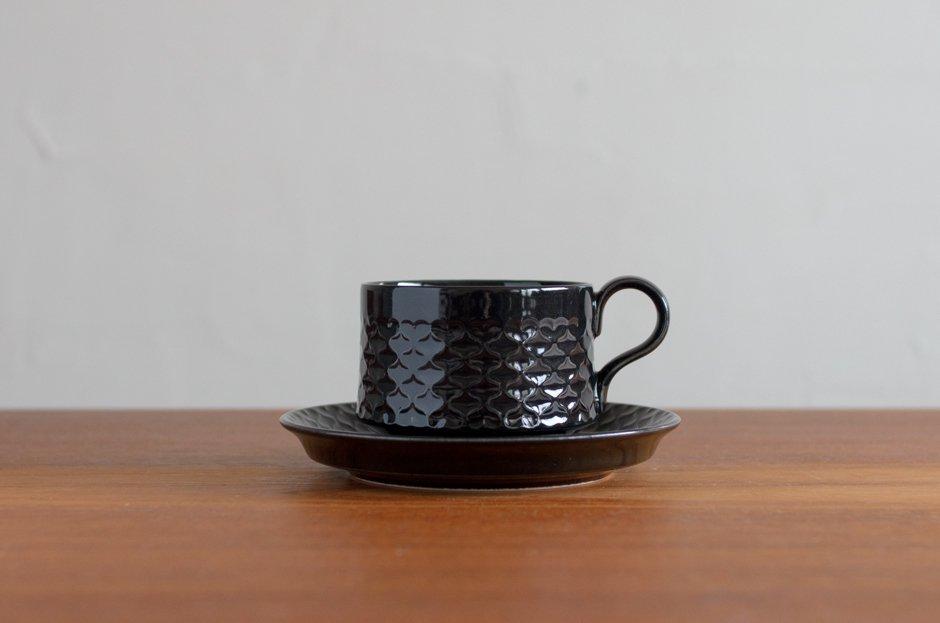 Cordial コーディアル ブラック カップ&ソーサー #3/Jens.H.Quistgaard イェンス・クイストゴー