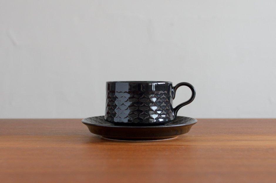 Cordial コーディアル ブラック カップ&ソーサー #4/Jens.H.Quistgaard イェンス・クイストゴー