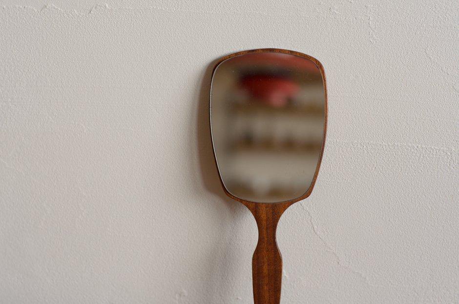 Denmark Vintage Teak 手鏡