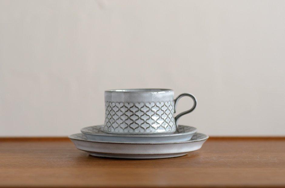 Cordial コーディアル  トリオセット カップ&ソーサー&17cmプレート #3 イェンス・クイストゴー