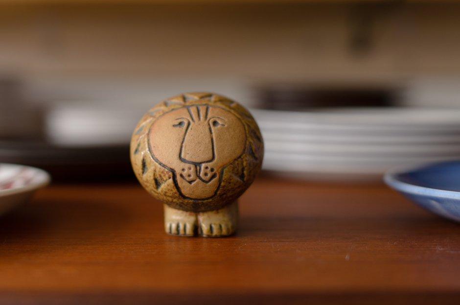 Lisa larson リサ・ラーソンビンテージ Africa Lion アフリカ ライオン S/Gustavsberg グスタフスベリ