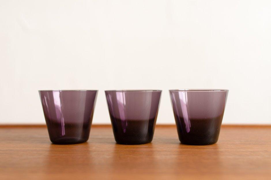 Kaj Franck カイ・フランク Color Glass #2744(S) Purple Nuutajarvi
