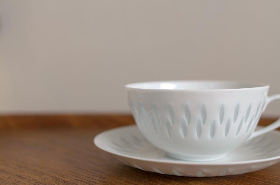 Arabia アラビア Rice Pocelain ティーカップ&ソーサー 0.28L #1 Friedl Holzer Kjellberg