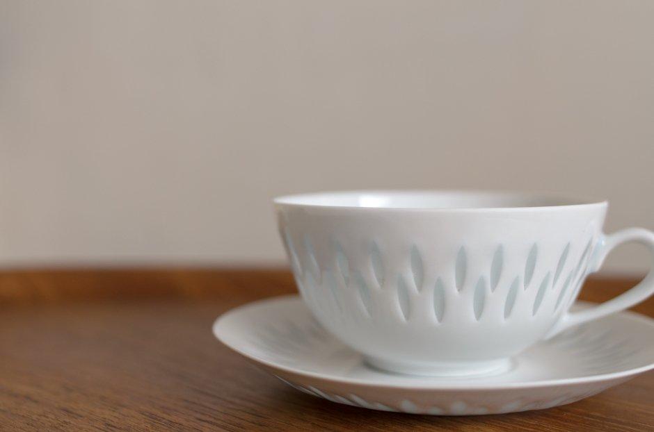 Arabia アラビア Rice Pocelain ティーカップ&ソーサー 0.28L #2 Friedl Holzer Kjellberg