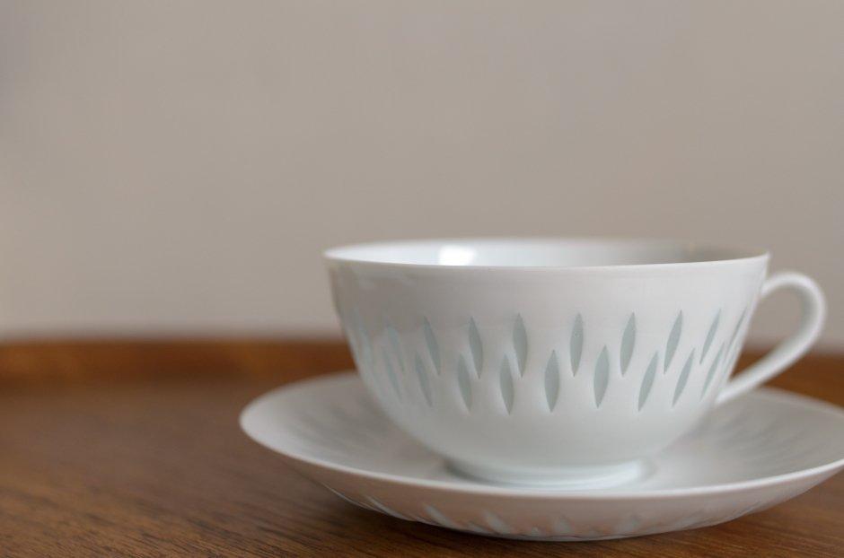Arabia アラビア Rice Pocelain ティーカップ&ソーサー 0.28L #3 Friedl Holzer Kjellberg