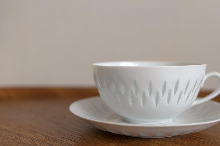 Arabia アラビア Rice Pocelain ティーカップ&ソーサー 0.28L #4 Friedl Holzer Kjellberg