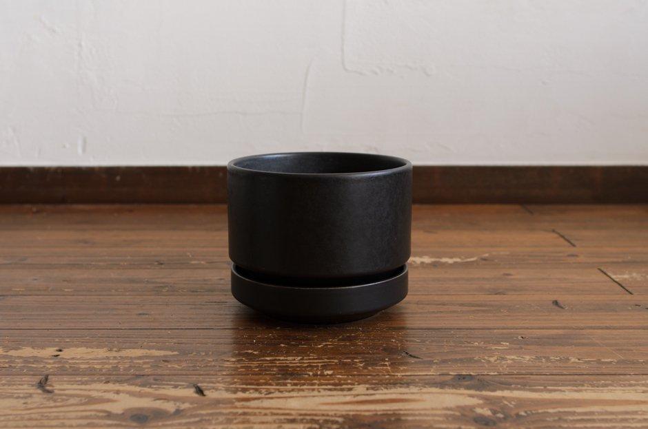 Aarabia アラビア フラワーポット 植木鉢 Black/SN-3 1.9L Richard Lind #2