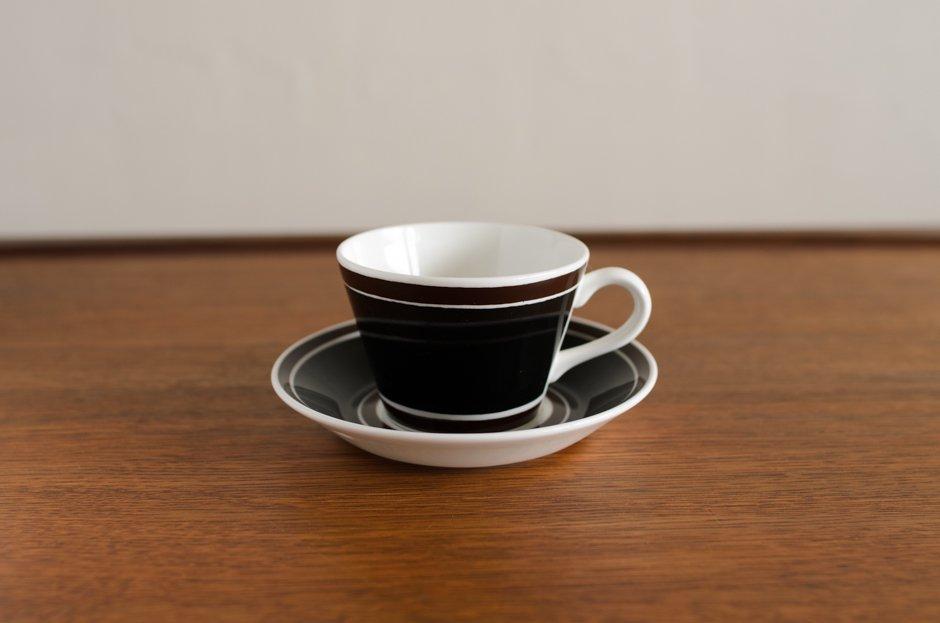 Stig Lindberg Terra コーヒーカップ&ソーサー #2