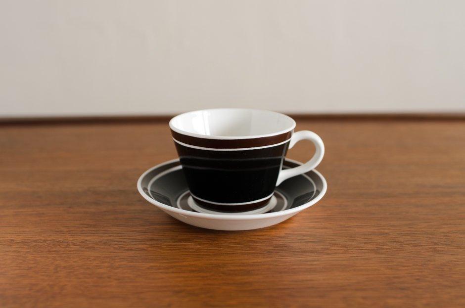 Stig Lindberg Terra コーヒーカップ&ソーサー #3