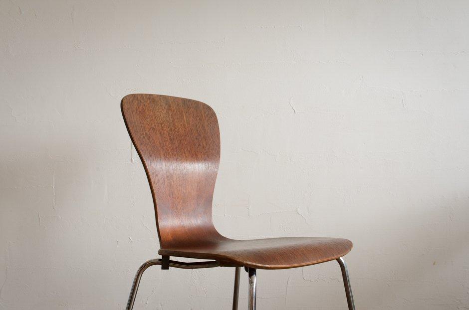 Tapio Wirkkala Nikke Chair Teak Asko Finland #2