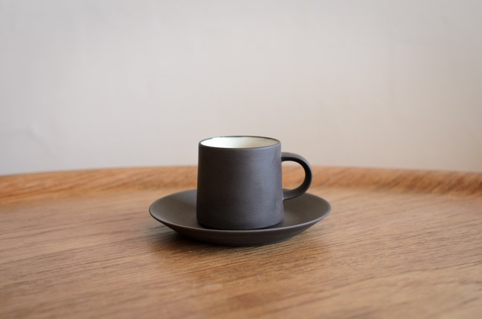 DANSK ダンスク Flamestone コーヒー カップ & ソーサー #1 Jens H Quistgaard