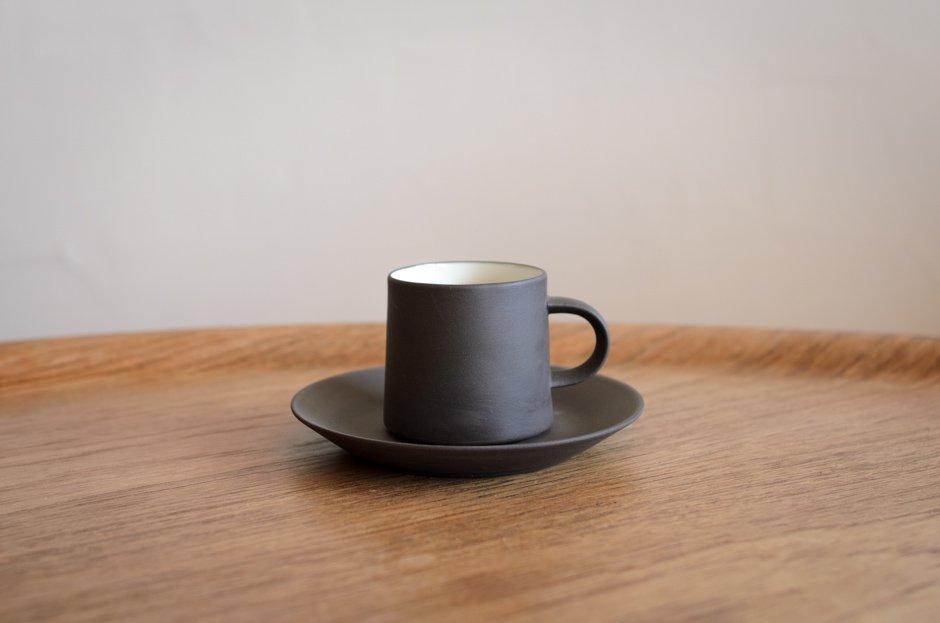 DANSK ダンスク Flamestone コーヒー カップ & ソーサー #2 Jens H Quistgaard