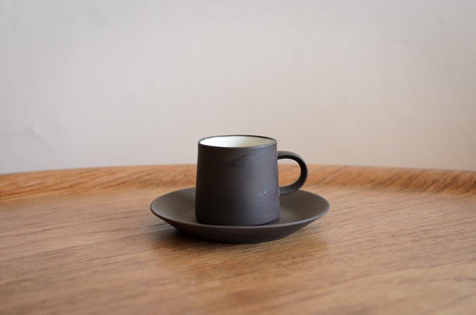 DANSK ダンスク Flamestone コーヒー カップ & ソーサー #3 Jens H Quistgaard