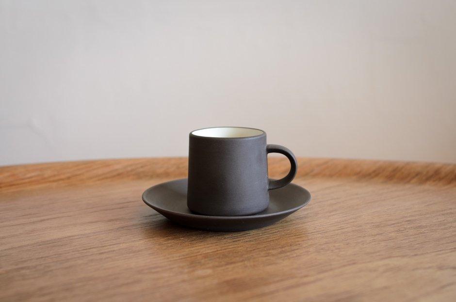 DANSK ダンスク Flamestone コーヒー カップ & ソーサー #4 Jens H Quistgaard