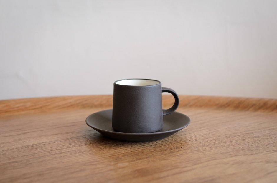 DANSK ダンスク Flamestone コーヒー カップ & ソーサー #5 Jens H Quistgaard