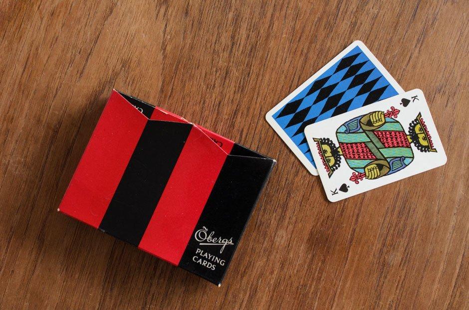 Stig Lindberg COMEDIA PLAYING CARDS トランプ