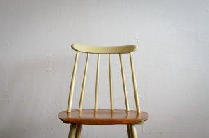 Ilmari Tapiovaara イルマリ・タピオヴァラ Fanett chair ファネットチェア White × Natural EDSBYVERKEN