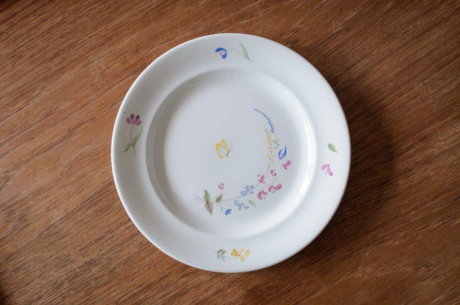 Stig Lindberg スティグ・リンドベリ HAGA 18.5cm Plate #1 Gustavsberg