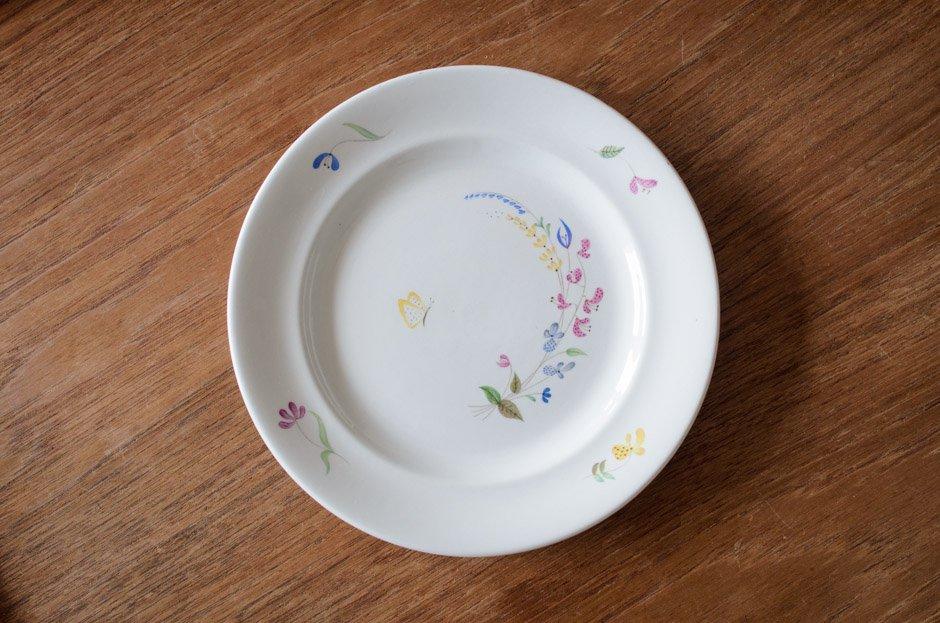 Stig Lindberg スティグ・リンドベリ HAGA 18.5cm Plate #4 Gustavsberg