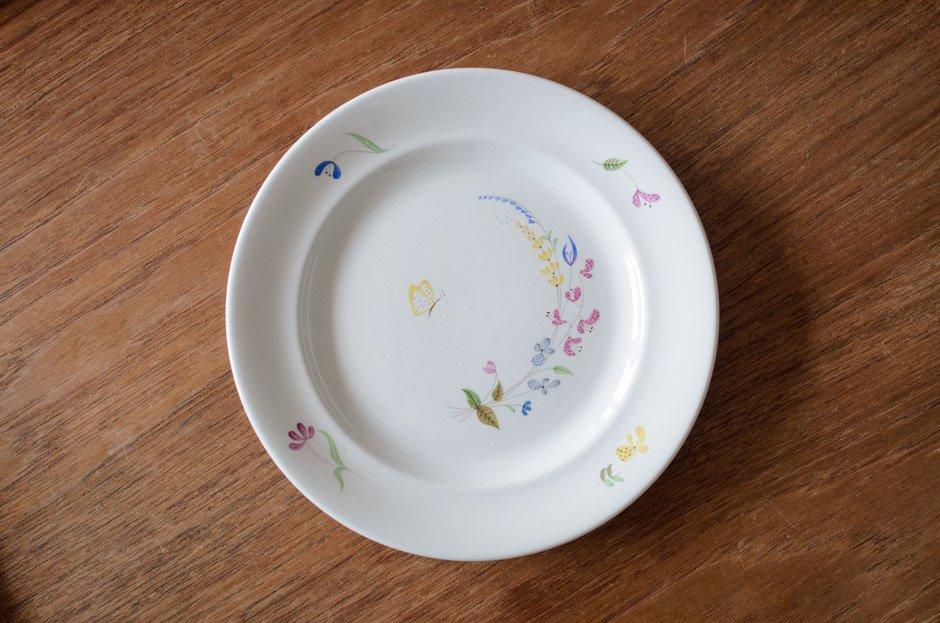 Stig Lindberg スティグ・リンドベリ HAGA 18.5cm Plate #6 Gustavsberg