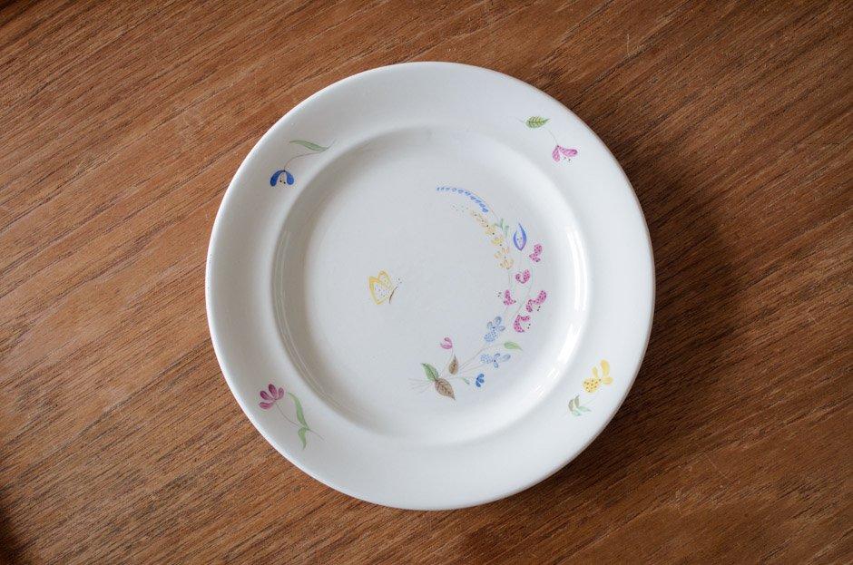 Stig Lindberg スティグ・リンドベリ HAGA 18.5cm Plate #10 Gustavsberg