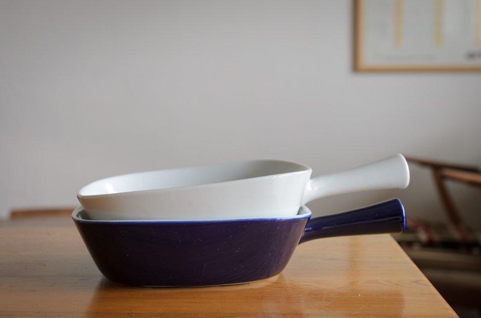 Denmark Lyngby Porcelain リュンビュー ポーセリン 持ち手付キャセロール