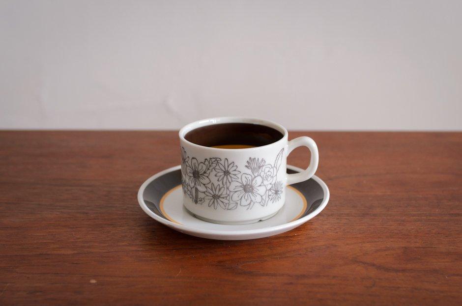 Gefle MAUD コーヒーカップ&ソーサー #1