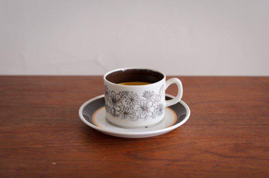 Gefle MAUD コーヒーカップ&ソーサー #2