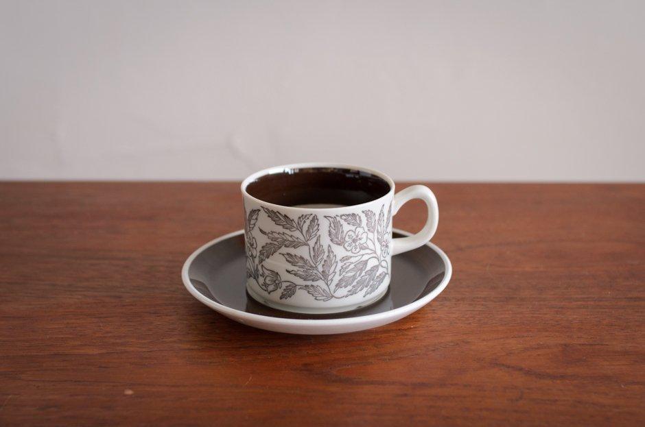 Gefle FONTANA コーヒーカップ&ソーサー #1