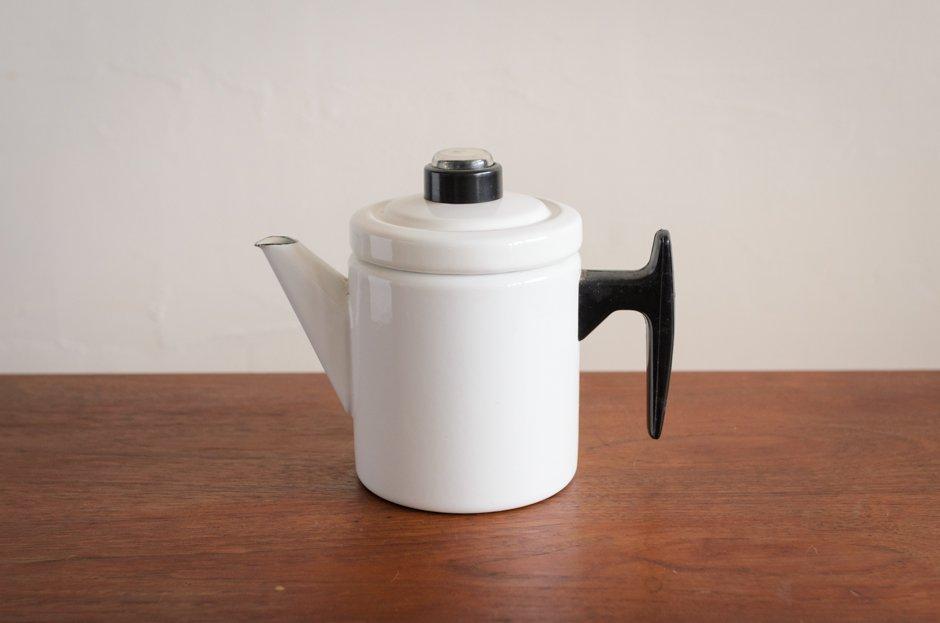 FINEL フィネル Coffee Pot コーヒーポット White S 0.7L / Antti Nurmesniemi アンティ・ヌルメスニエミ