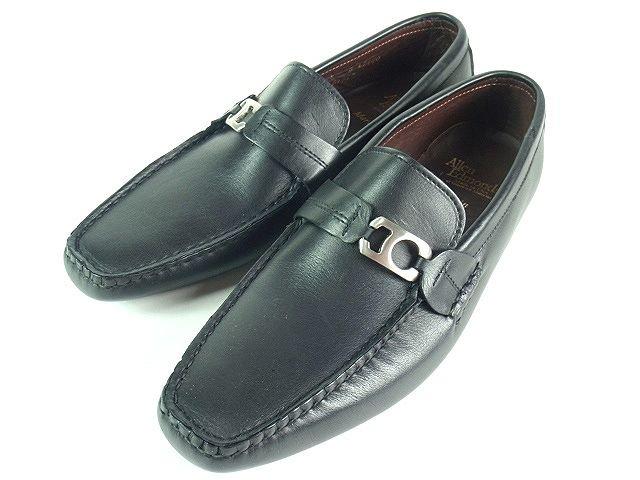 新入荷 アレンエドモンズ 未使用品 ビットローファー 8 靴 黒 ◎