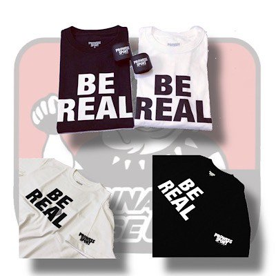 BE REAL TEE